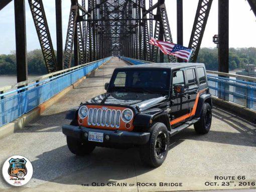2016 Old Chain of Rocks Jeep Run Caseyville, IL October 23