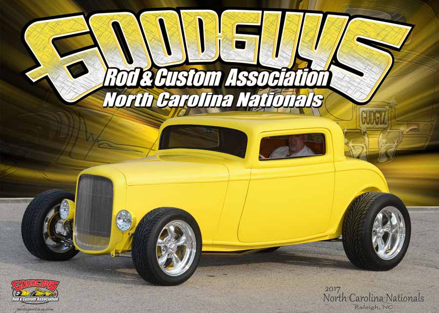2017 Goodguys North Carolina Nationals – Raleigh, NC April 28-30
